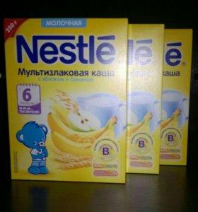 Каша Nestle 9 пачек