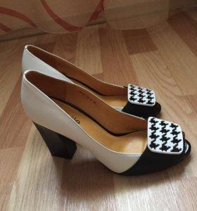 Туфли новые (натуральная кожа)