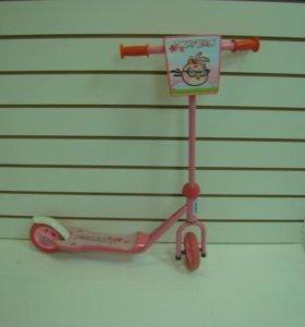 Самокат детский (синий), розовый продан