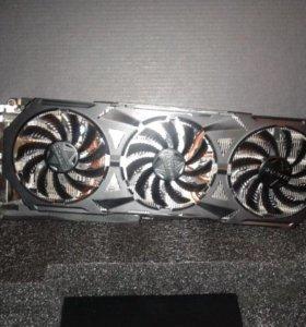 Видеокарта nVidia GeForce GTX970 Gigabyte WindForce 3X PCI-E 4096Mb (GV-N970G1 GAMING-4GD)