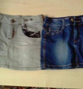 Продаю 2 джинсовые юбки
