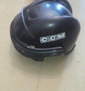 Хоккейные шлемы на запчасти