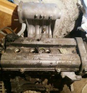 Двигатель HONDA CR-V. На запчасти.