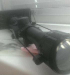 Оптический прицел+*ласточкин хвост* переходник