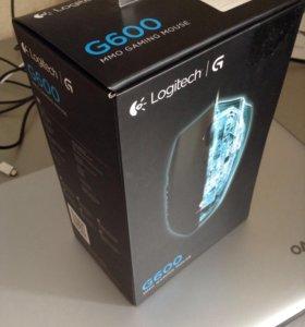 Игровая мышь Logitech G600
