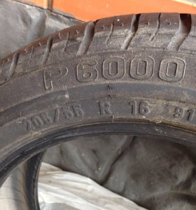Pirelli p6000 205 55 r16