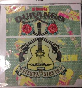 PS4 Наклейка для приставки Durango