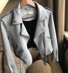 Замшевая куртка-касуха