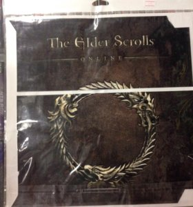PS4 Наклейка The Elder Scrolls