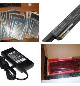 Матрицы, клавиатуры, аккумуляторы для ноутбуков