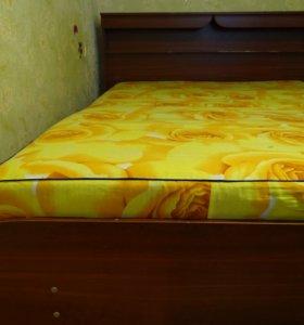 Кровать двуспальна