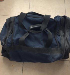 Большая Сумка чемодан дорожная на колесиках