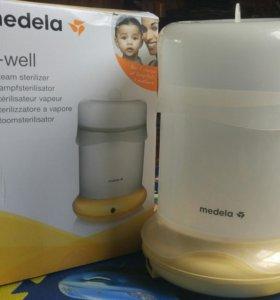 Подогреватель - стерилизатор для бутылочек и детского питания Medela B-well (Би Велл)