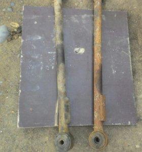 Рычаги передней и задней подвески от кариба АЕ95