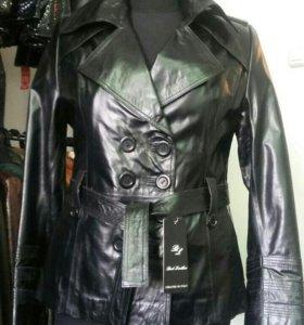 Натуральная кожа куртки новые
