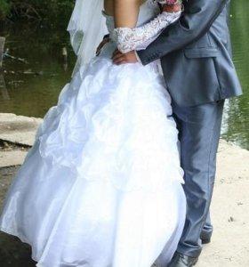Свадебное платье и костюм