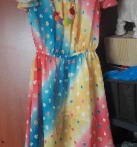 Платье на девочку рост 134 см