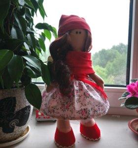 Кукла тильда. Интерьерная кукла.