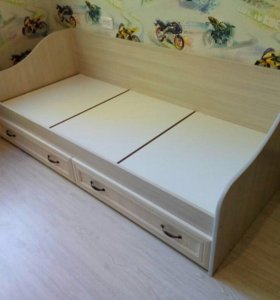 Кровать Вега ДМ-09 (Сосна карелия)