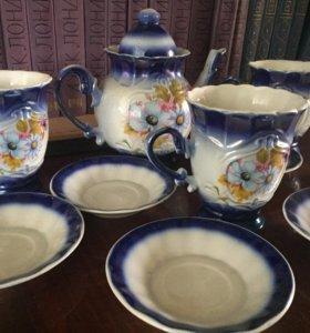 Чайный сервиз на 3 персоны