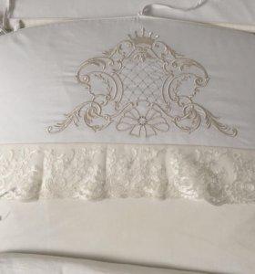 Комплект в кроватку 6 предметов