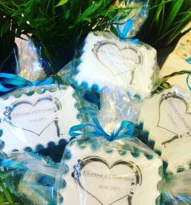 Свадебные мыльные подарки для гостей