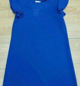 Платье, цвет синий
