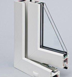 Окно (2 окна) Rehau