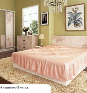 Винтаж спальня