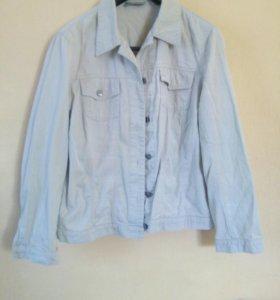 Куртки женские джинсовые размер 50-52