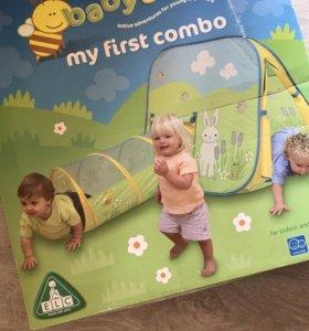 Детский домик-палатка ELC с трубой