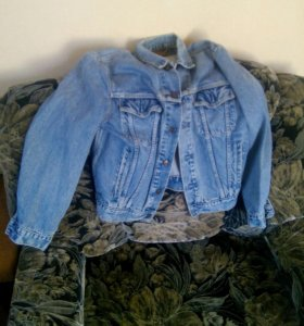 Джинсовая куртка 48 (левис)