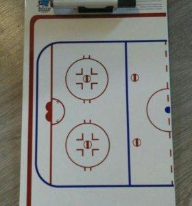 Планшет хоккейного тренера