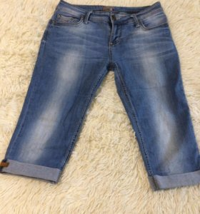 Фирменные джинсы бриджи качество супер 👍🏻