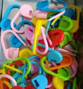 Маркеры для вязания. 20 штук - 50 рублей