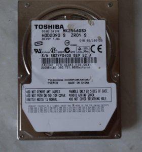 Жесткий диск для ноутбука TOSHIBA 200 Гб SATA
