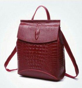 Рюкзак-сумка (трансформер) натуральная кожа