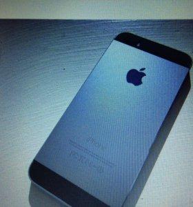 Iphone 5s spase gray 16 gb