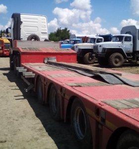 Аренда трала для перевозки из в Ижевск, вся Россия от 20 до 110 тонн