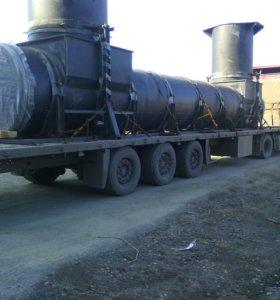 Аренда трала, перевозка негабарита из в Ачинск, вся Россия от 20 до 110 тонн