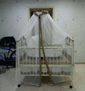 Детская кроватка. Торг
