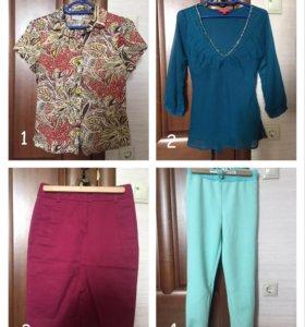 Много одежды в хорошем состоянии, 42-44 размер.