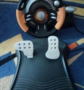 Игровой руль+педали