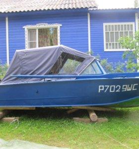 Лодка Прогресс с мотором Партсун