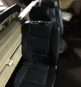 Салон с обивками на BMW X5(е53)