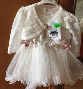 Новое платье рост 74 смс