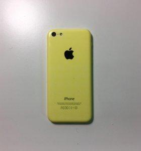 iPhone 5c 32GB, жёлтый
