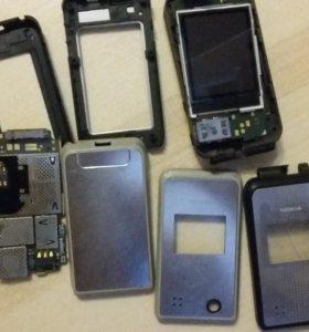 Nokia 6710 рабочая, разобранная