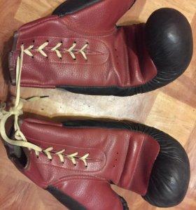 Кожаные перчатки 70х СССР