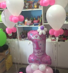 Гелиевые шары, фигуры из шаров